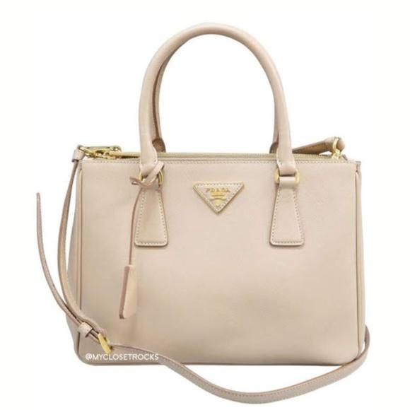 9baf19634741 Prada Bags | Galleria Small Double Zip Tote | Poshmark